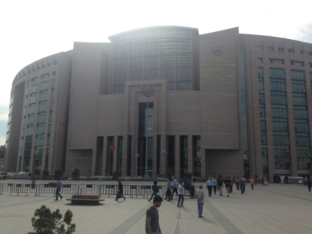 Gerichtsgebäude Istanbul