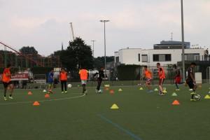 Training mit dem FC Lampedusa