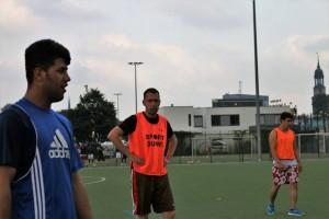 Training mit dem FC Lampedusa II