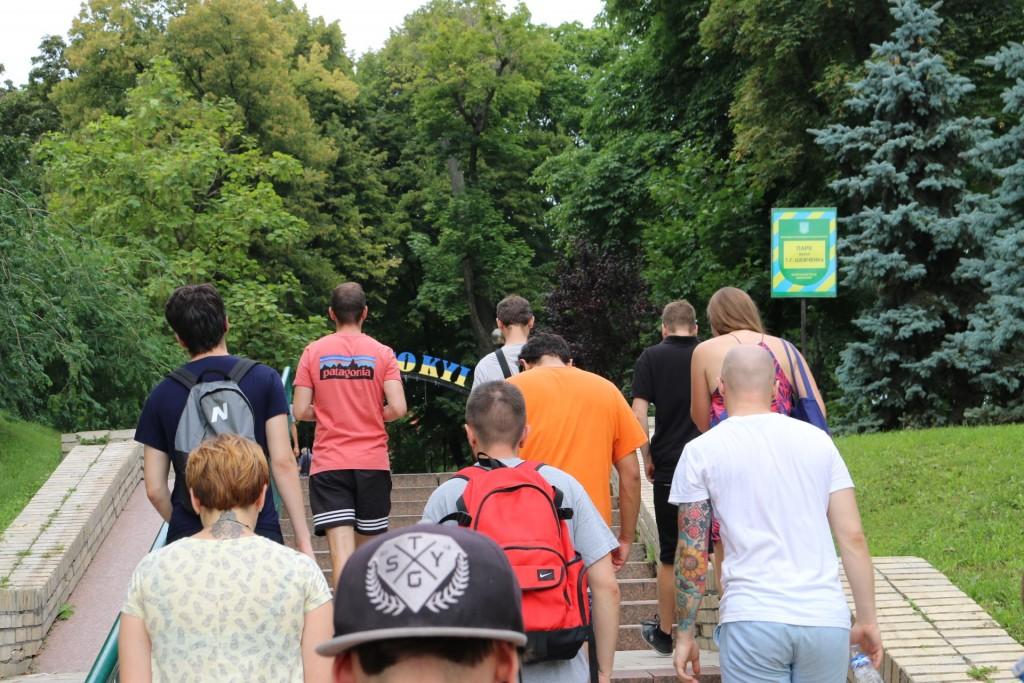 Auf den Spuren der Geschichte Kiews