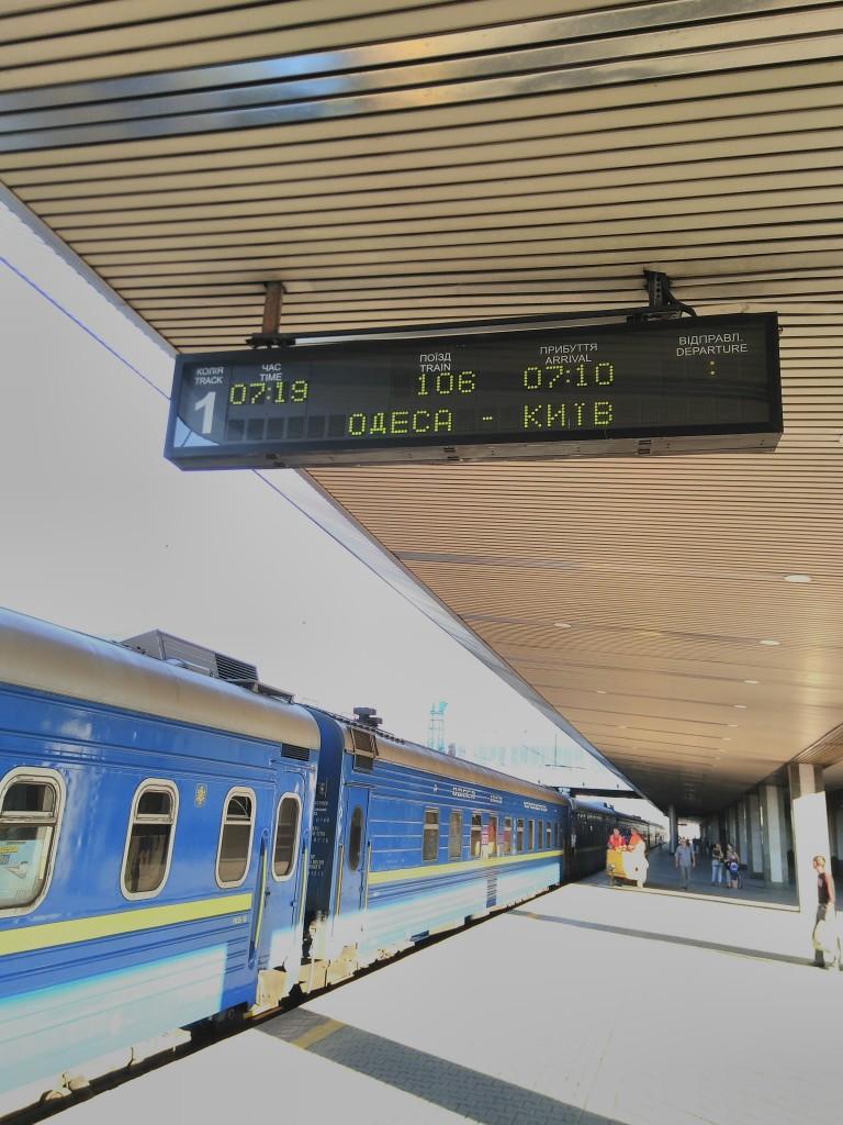 Zurück in Kiew