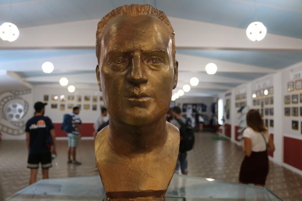 Ausstellungsraum zur Geschichte des Fußballs in Odessa