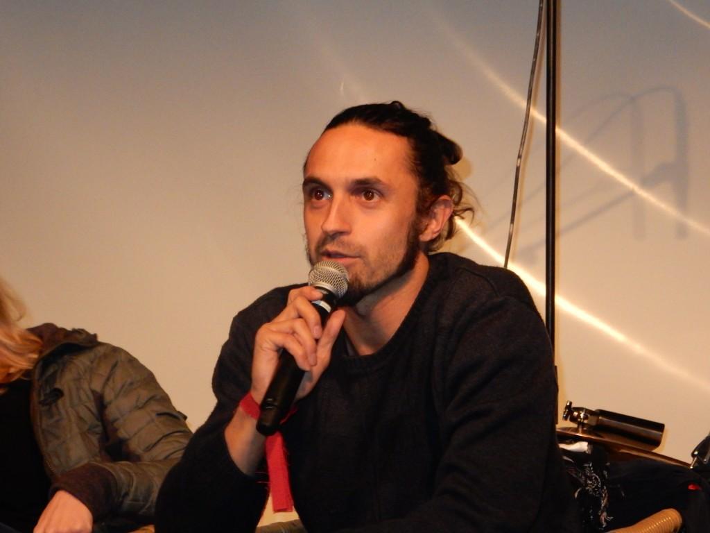 Moderator Michael Joop führte charmant durch die Diskussion